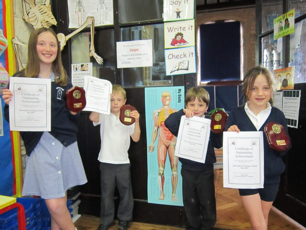 Science Award May 2013