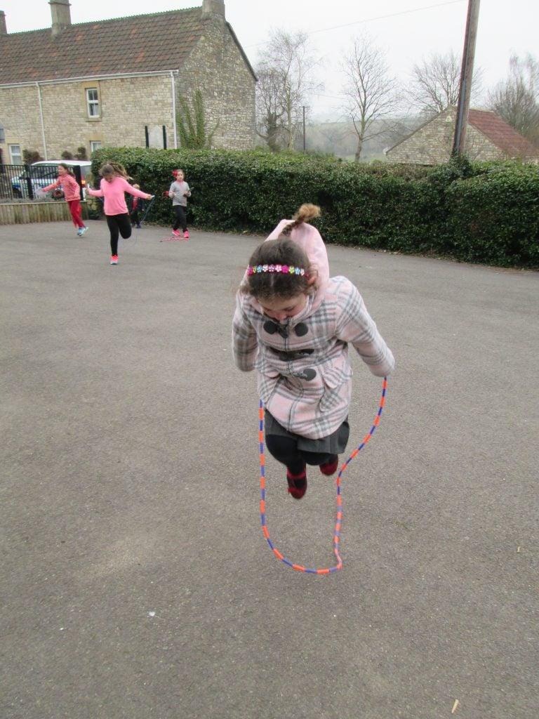 Sport Relief Skipping